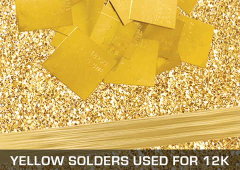 Yellow Solders Used For 12K
