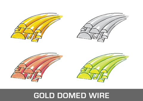 Gold Domed Wire