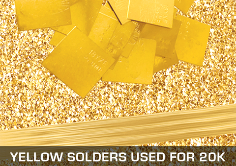 Yellow Solders Used For 20K