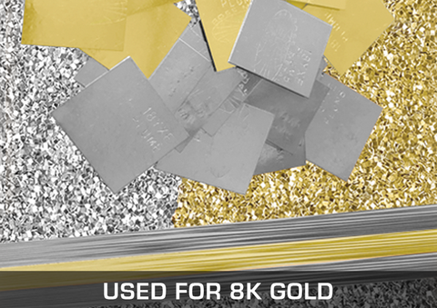 Solders Used For 8K Gold