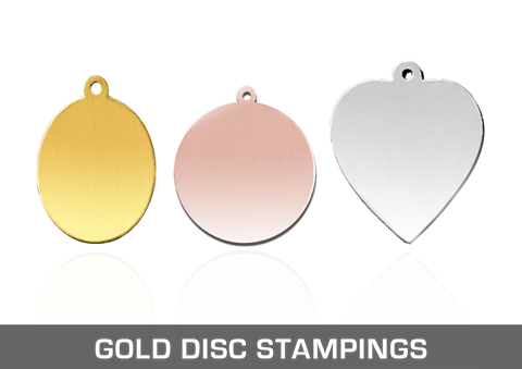 Gold Disc Stampings