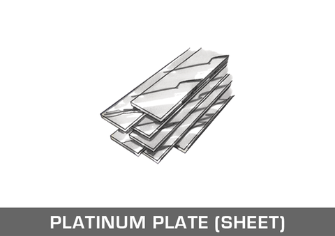 Platinum Plate / Sheet
