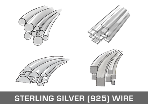 Sterling Silver (925) Wire