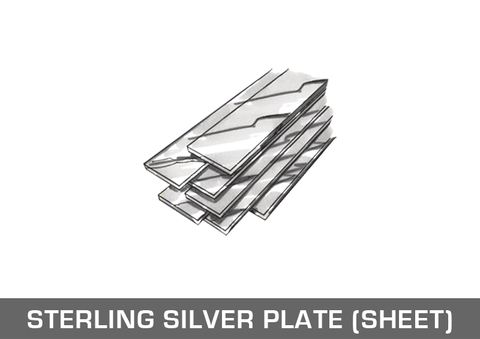 Sterling Silver Plate / Sheet