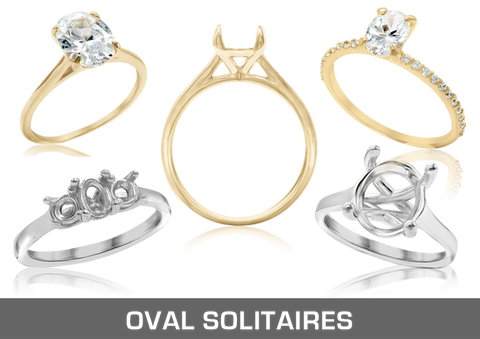 Oval Solitaires