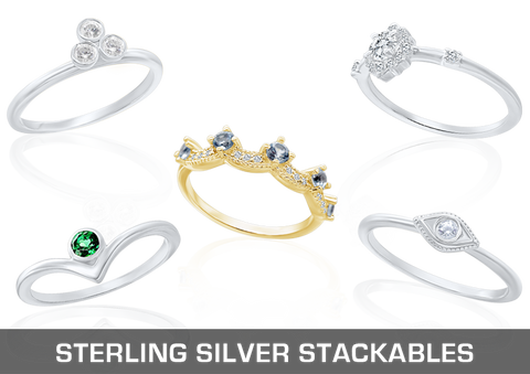 Stackables with Stones