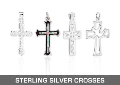 Sterling Silver Christian Crosses