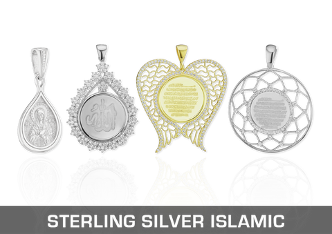 Sterling Silver Islamic