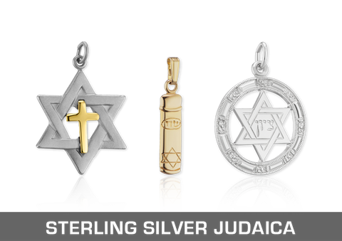 Sterling Silver Judaica