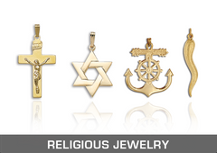 ross-metals-findings-religious-jewelry-14k-solid-hollow-yellow-white-gold-two-tone-tri-color-sterling-silver