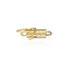 Twisted Barrel Clasps (2 mm - 4 mm)