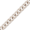 Spooled Curb Chain in Platinum (1.0mm-1.8mm)