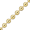 Spooled Round Bead Chain in Yellow Gold (1.0mm - 4.0mm)