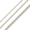 Bulk / Spooled Venetian Box Chain in Stainless Steel (1.2mm - 2.5mm)