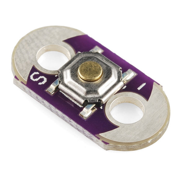 Lilypad Arduino Button Board - Momentary Push Button Switch