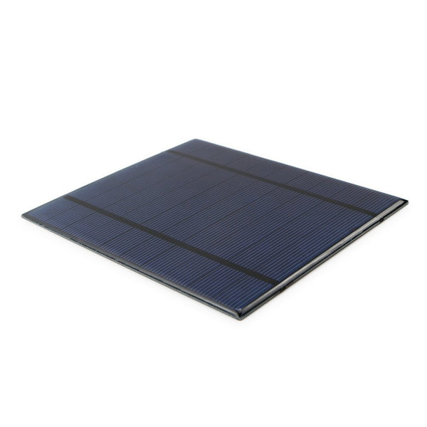 AMX3d PET Solar Panel 130mm x 150mm 2.5W 5V Working Current: 500mAh