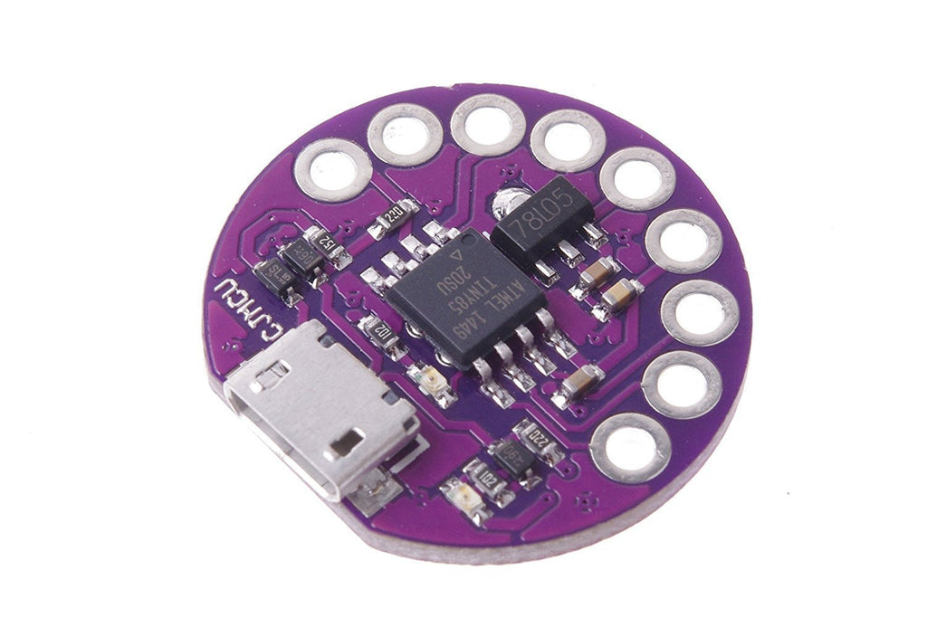 Lily ATtiny85 CJMCU Mini LilyPad Main Board for Wearables, Textile Projects