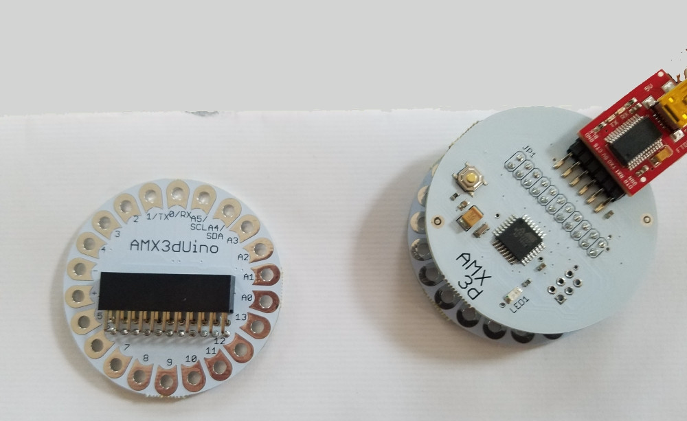 AMX3dUino The newest Arduino innovation for Wearable Projects