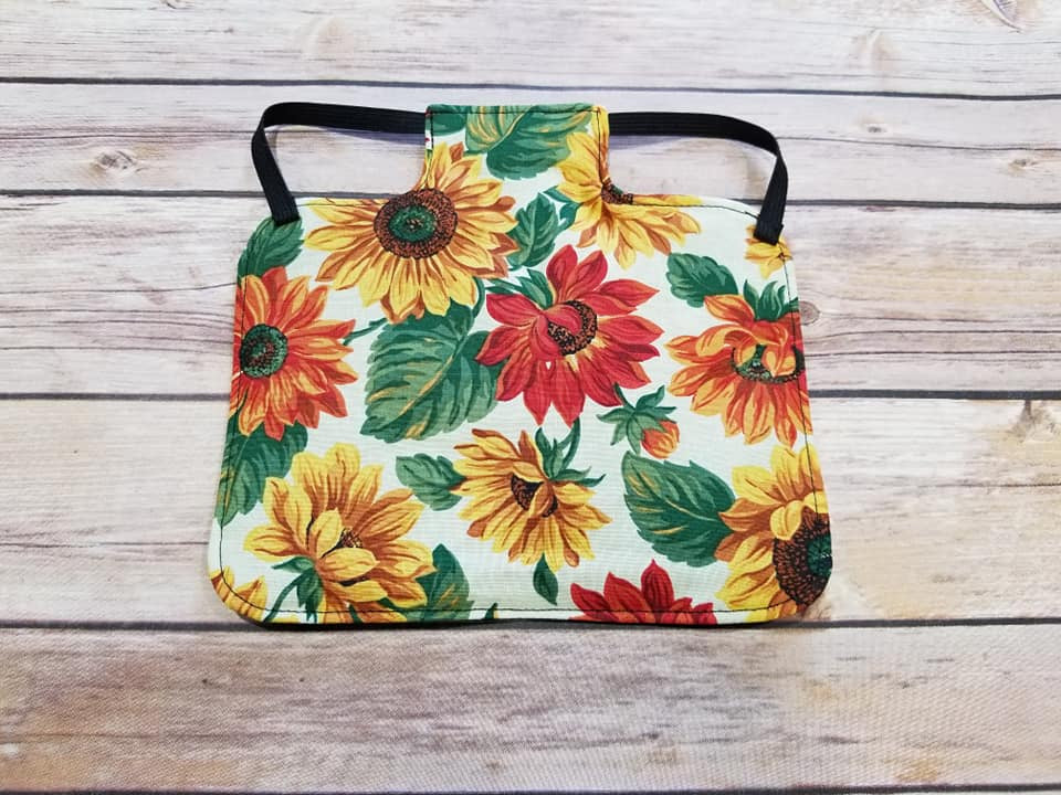 Fall Sunflowers Chicken Saddle/Hen Apron