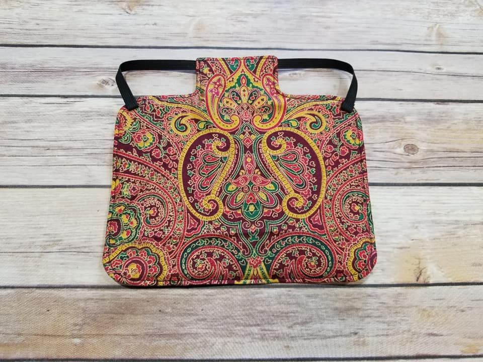 Fall Paisley Chicken Saddle/Hen Apron
