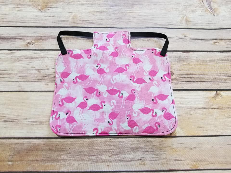 Pink Flamingos Chicken Saddle/Hen Apron