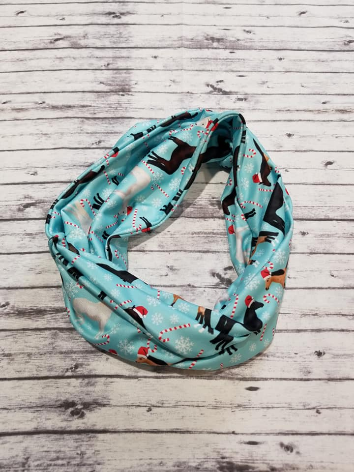 Christmas Horse Infinity Scarf