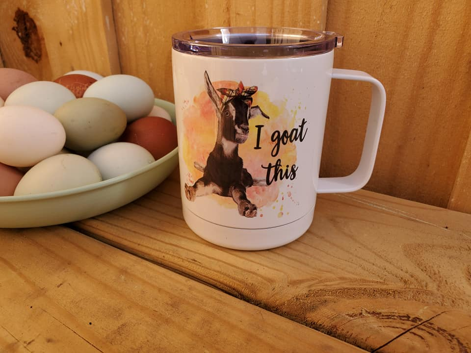I Goat This Insulated Mug