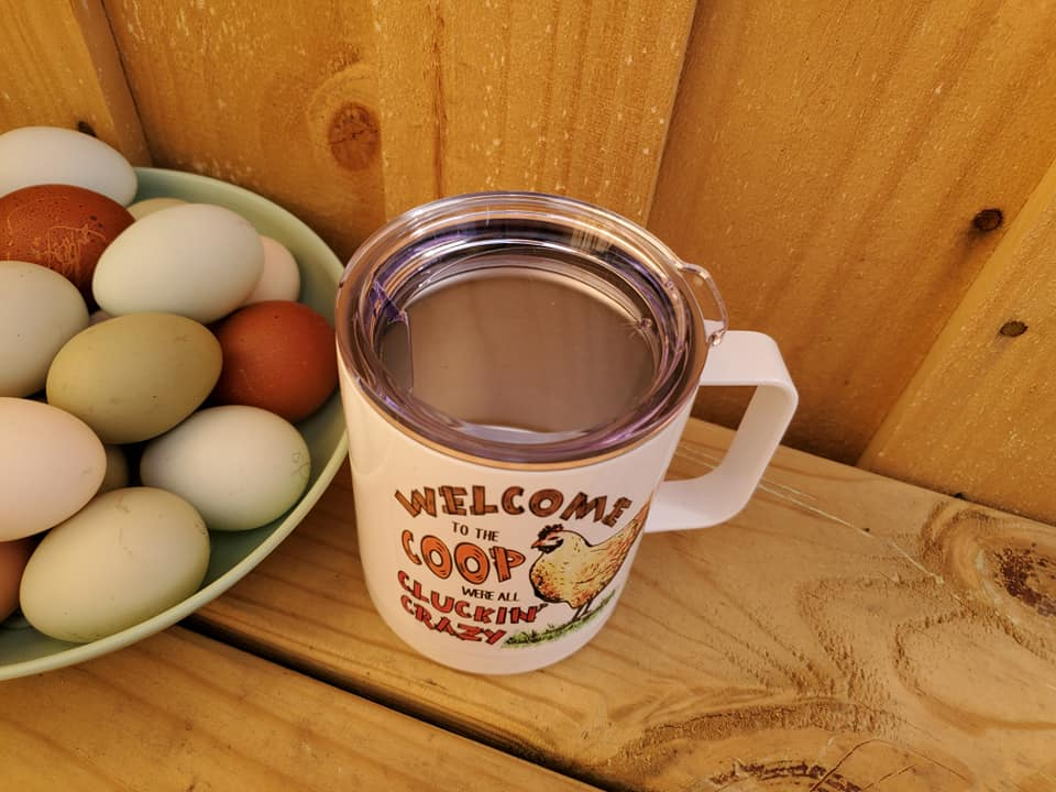 Welcome To The Coop Insulated Mug