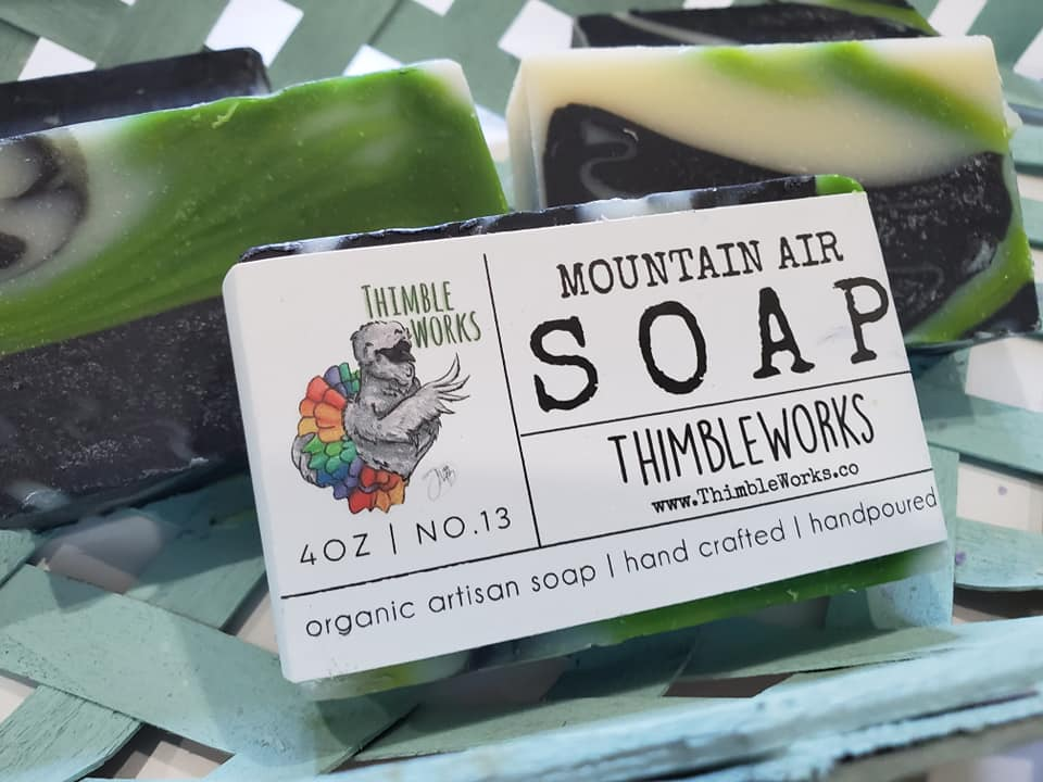 Mountain Air Cold Process Soap