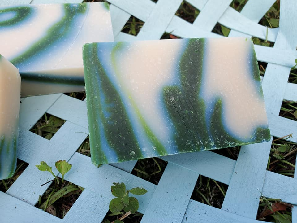 Cucumber Melon Cold Process Soap