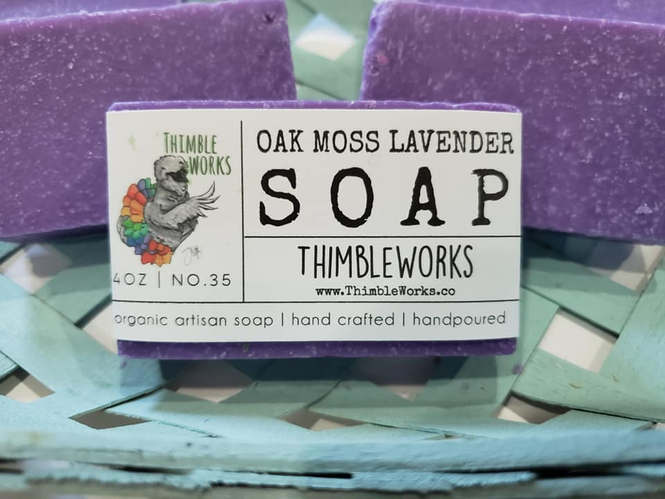 Oak Moss Lavender Cold Process Soap