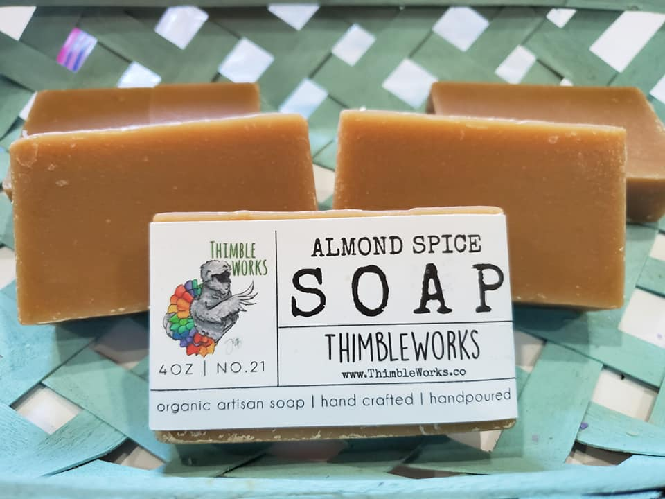 Almond Spice Cold Process Soap