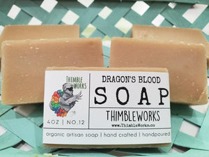 Dragon's Blood Cold Process Soap