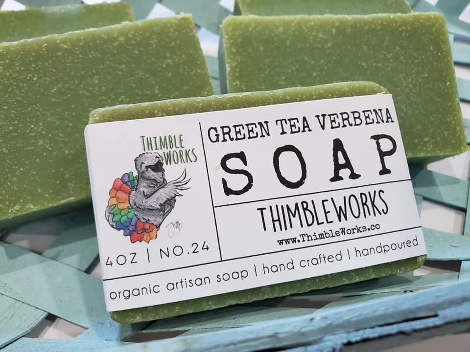 Green Tea Verbena Cold Process Soap