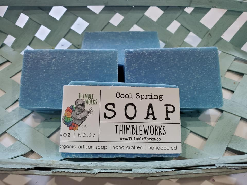 Cool Spring Cold Process Soap