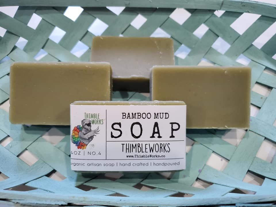 Bamboo Mud Cold Process Soap