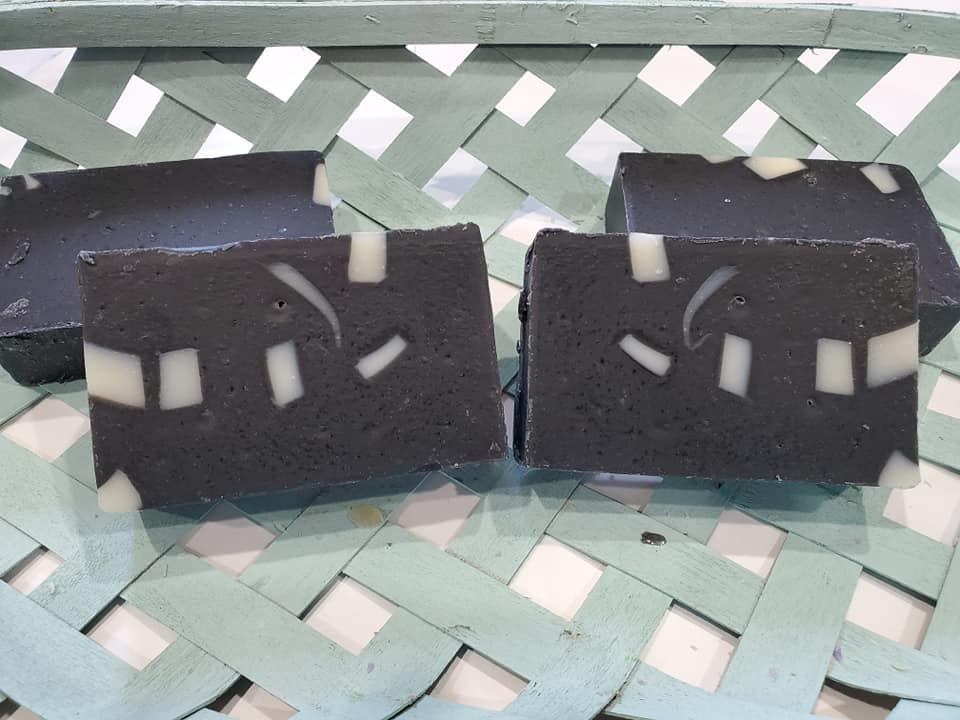 Charcoal Aloe Cold Process Soap