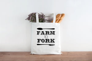 Farm to Fork Tote Bag