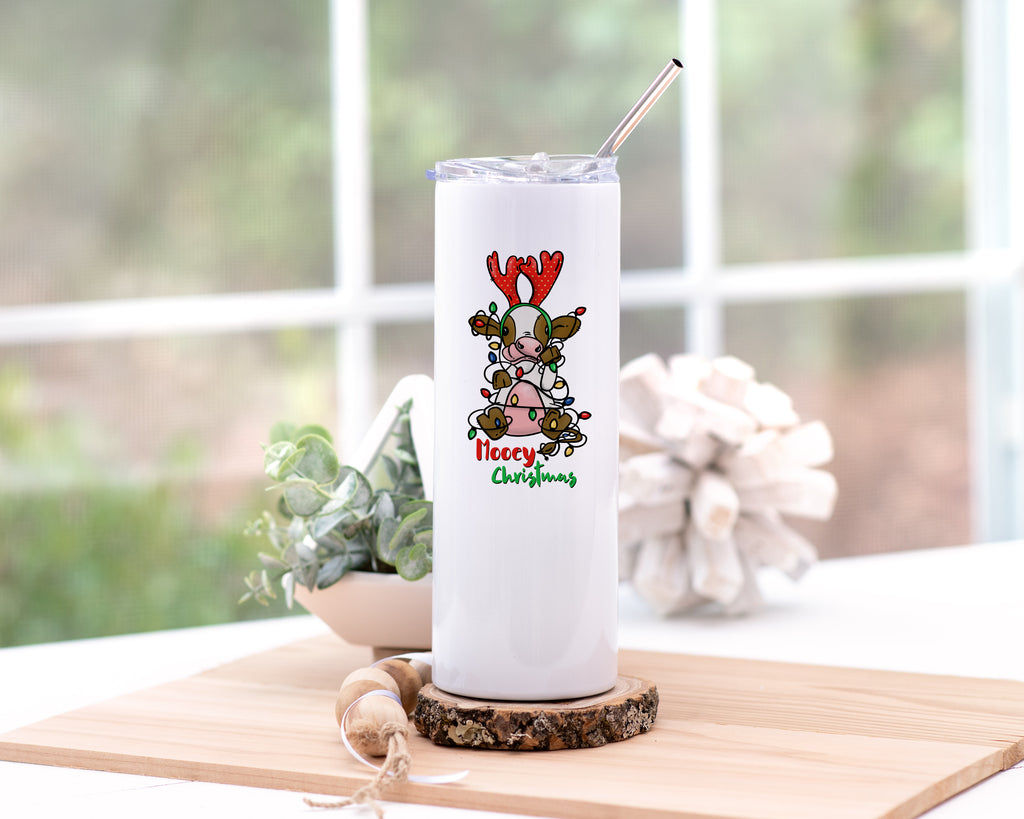 Mooey Christmas Insulated travel Mug