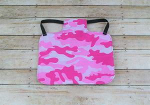 Pink Tri-Color Camouflage Chicken Saddle/Hen Apron