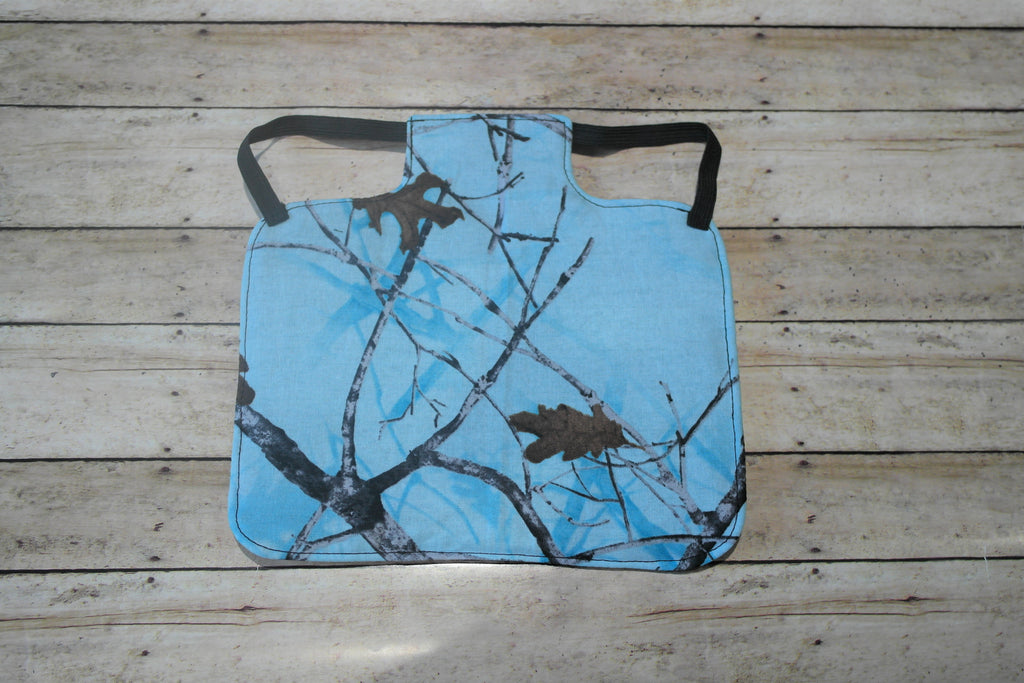 Blue Camouflage Chicken Saddle/Hen Apron