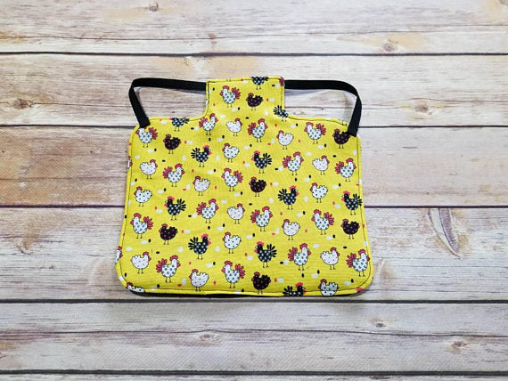 Yellow Chickens Chicken Saddle/Hen Apron