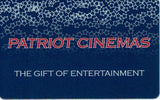 $60.00 Patriot Cinemas Gift Card