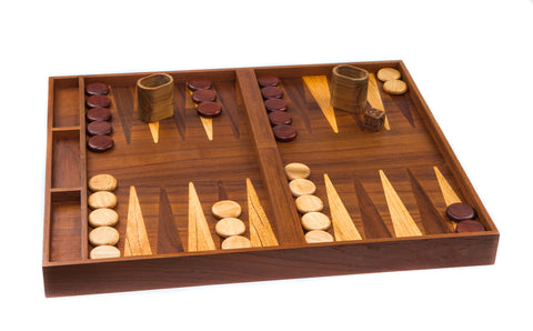 60090 - 2 In 1 Backgammon/Checkerboad