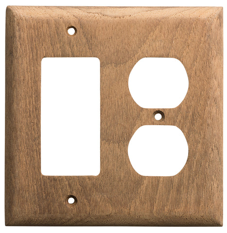 60175 - Rocker Switch/Duplex Outlet Cover