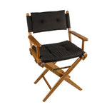 61041 - Director's Chair with Deluxe Cushions - Black