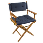 61042 - Director's Chair with Deluxe Cushions-Navy