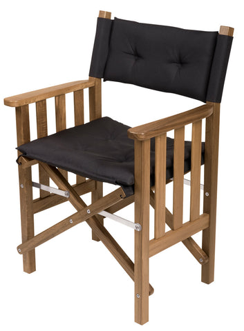 61051 - Director's Chair II with Deluxe Cushions-Black