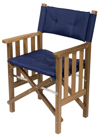 61052 - Director's Chair II with Deluxe Cushions - Navy