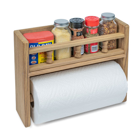 62446 - Spice Rack with Paper Towel Holder
